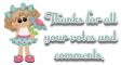Cute girl - Thanks