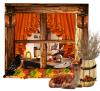 Home Scene in Autumn