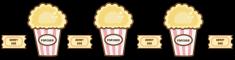 Popcorn and Ticket Divider