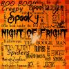 Halloween background- Night of Fright