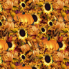 Fall Pumpkins & Sunflowers