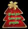 Red Christmas Tag - Great Job