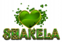 ST PATRICKS DAY HEART SHAKELA TEXT
