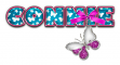 BLUE LIGHT PURPLE BUTTERFLY CONNIE TEXT