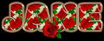 Red Roses - Jane
