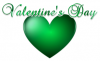 Valentine's Day (Green)