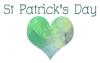 St Patrick's Day, hearts, holidays