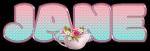 Pastel colors & flowers - Jane