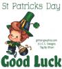 St Patricks Day.. GOOD LUCK, HOLIDAYS, LEPRECHAUN