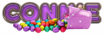 EGGS COLORFUL BASKET CONNIE TEXT