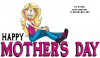 HAPPY MOTHER'S DAY, CUTE, HOLIDAYS, TOONS
