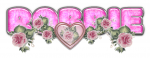 PINK DUSTY ROSE HEART ROBBIE