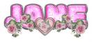 PINK DUSTY ROSE HEART JANE