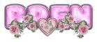 PINK DUSTY ROSE HEART BREN