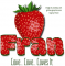 Fran Love.. Love.. Loves It, STRAWBERRY, NAMES, PERSONAL