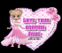 Lady in pink - love your graphic - Jane