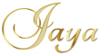 JAYA, NAME TAGS, FIRST NAMES, GOLD, LETTERING