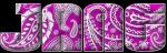 Purple swirlies - Jane