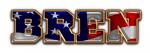 SPORTS WORLD DEFONT FLAG AMERICAN BREN TEXT