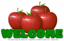 WELCOME, FRUIT, TEXT, APPLES