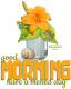 good morning... have a blessed day, LEMON, FOOD, TEXT, GREETINGS