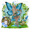 Blue Summer Fairy
