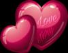 Love Story hearts