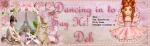 Deb -Dancing in to say....