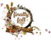 finally fall, Seasonal, Autumn, Text