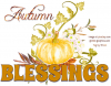 Autumn Blessings, SEASONAL, FALL, PUMPKINS
