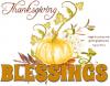 THANKSGIVING BLESSINGS 🍗