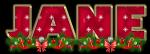 Red stars for Christmas - Jane
