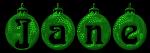 Christmas Bulbs - Jane