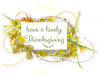 Have A Lovely Thanksgiving, DESIGNS, HOLIDAYS, TEXT