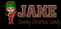 Yummy Christmas Candy - Jane