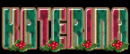 FESTIVE CHRISTMAS - KATERINA