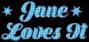 Blue Polka Dots - Jane
