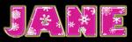 Pink Snowflakes - Jane