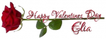 HAPPY VALENTINES DAY.. ELIA, ROSE, HOLIDAYS, TEXT