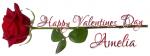 HAPPY VALENTINES DAY.. AMELIA