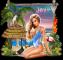 Girl on Beach - Jaya