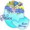 Easter Blessings.. Shian, HOLIDAYS, EGG, FLOWERS, TEXT