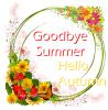 Goodbye Summer . . .