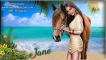 Girl w/horse on Beach - Jane