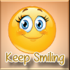 HAPPY FACE - KEEP SMILING sticker