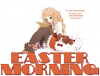 EASTER MORNING, ANIME, DEVIANTART, CUTE, TEXT