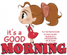 It's A Good Morning, Deviantart, Toon, Girl, TEXT