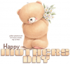 Happy Mothers Day, TEDDY BEAR, ANIMALS, TEXT