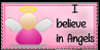 I believe in Angels stamp