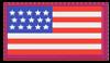 USA FLAG STAMP